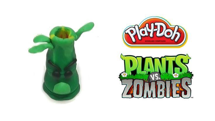 Play-Doh Plants vs Zombies Garden Warfare Bamboo Shoot from Plants Vs. Z...