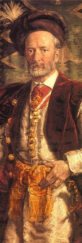 Portrait of Mikołaj Zyblikiewicz, Jan Matejko #portrait#janmatejko#poland