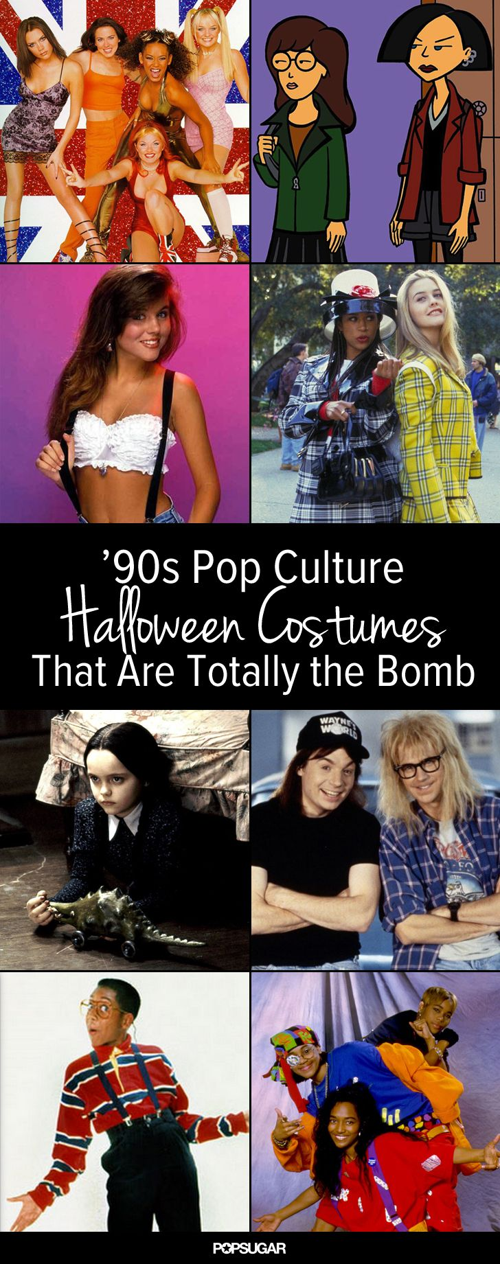 Don't let Halloween sneak up on you! Get ready with these bangin' '90s costumes.