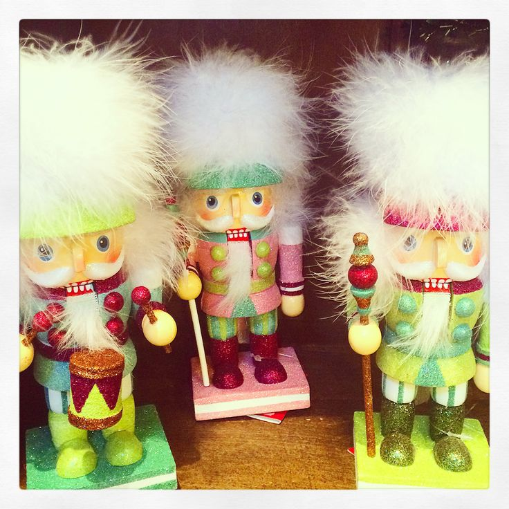 We love these colorful holiday nutcrackers! For sale in our farmhouse gift shop. | Colorado Alpines & Wildflower Farm in Edwards, CO. www.thewildflowerfarm.com