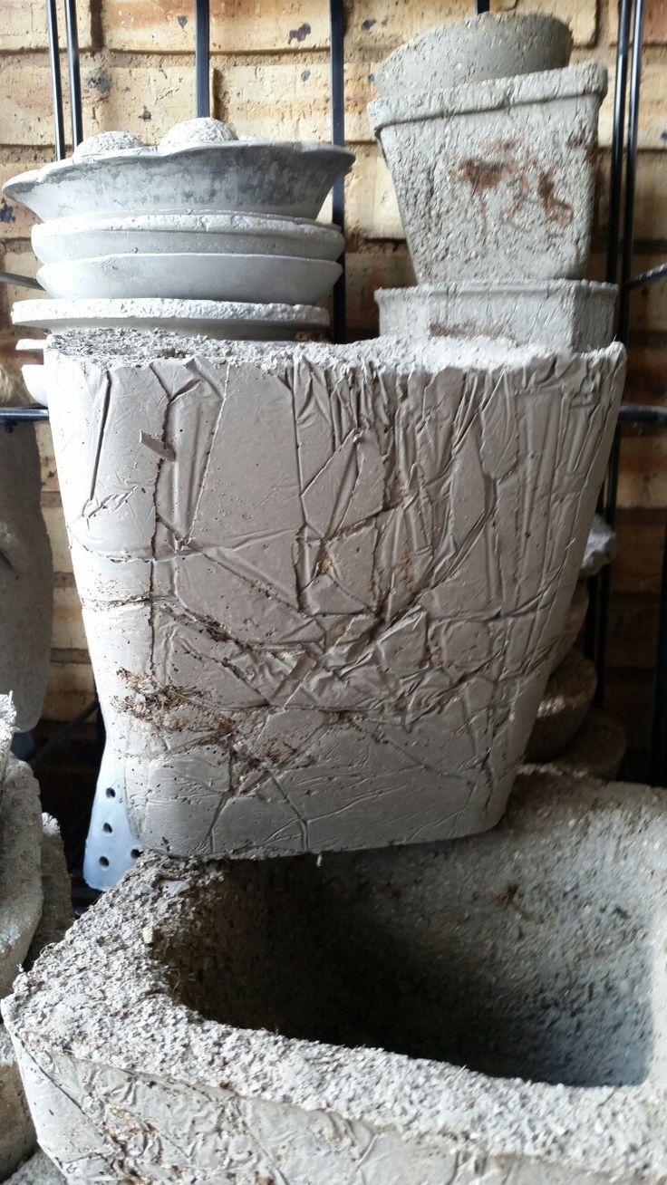 Large hupertufa pot
