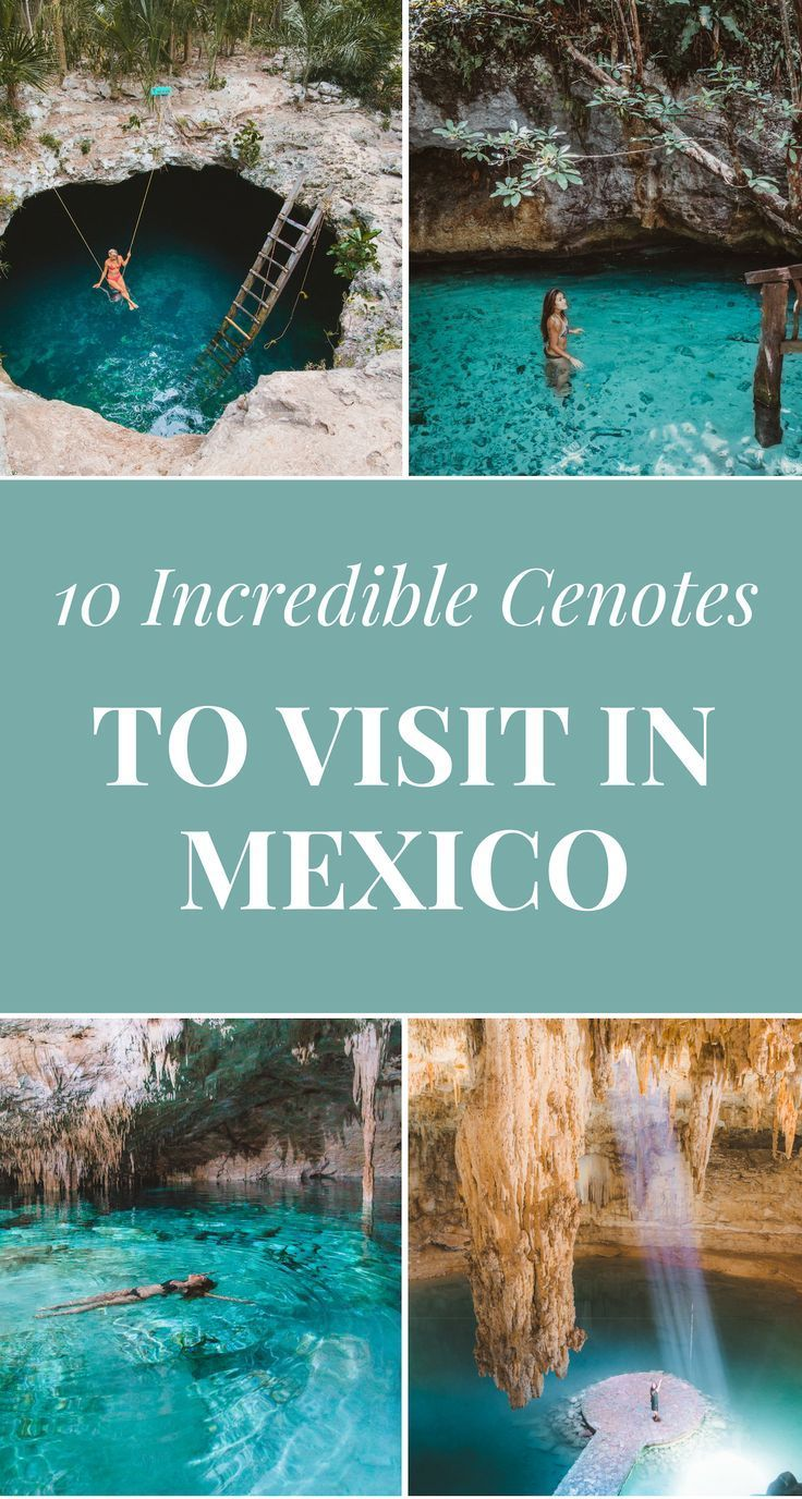 A Guide To The 10 Most Spectacular Cenotes To Visit In Cancun Tulum Mexico Cancun Tulum Mexico Travel Mexico Vacation