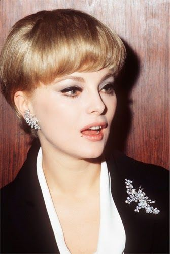Lovely Virna Lisi ~ Italian actress ~ wearing diamonds