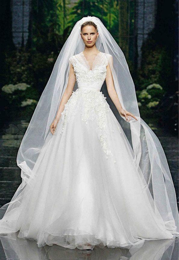 Выберите вдохновение для элегантной фату красивые длинные завесы