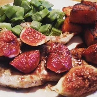 Karbonades met Vijgen en Balsamico :: Caatjes Kitchen