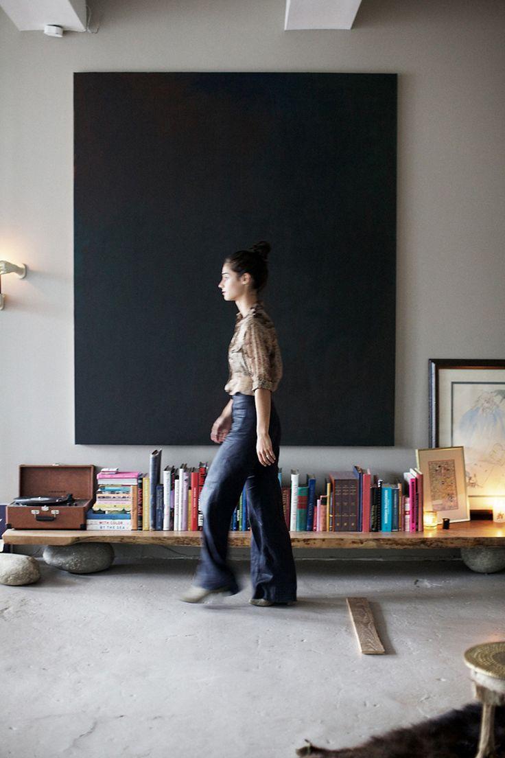 Gross loft, glamor, eclectic Andi Potamkin in New York
