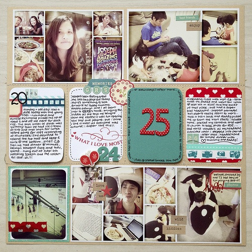 Project Life page: Photo Collage, Photo Layout, Project Life, Collage Pictures, Big Numbers, Projects Life Pages Ideas, Card, Projects Life Layout, 4X6 Photo