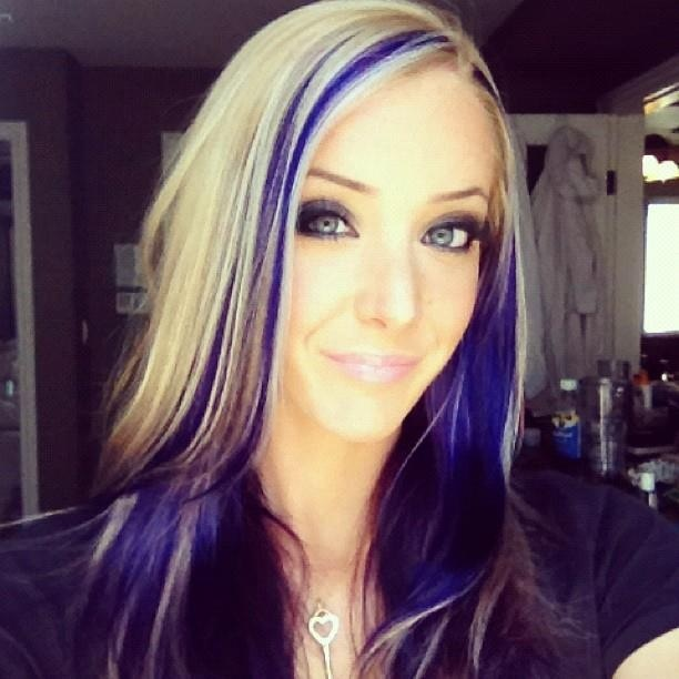 Jenna Marbles Blue Blonde Hair Jenna Marbles