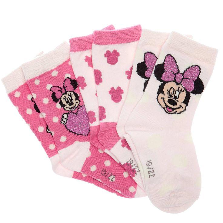 Set 3 paia calzini 'Disney' Neonata - Kiabi - 5,00€