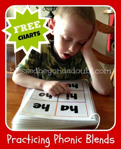 FREE Consonant Blend Charts - Mastering Phonic Sounds!