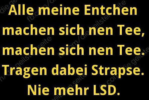nie mehr LSD