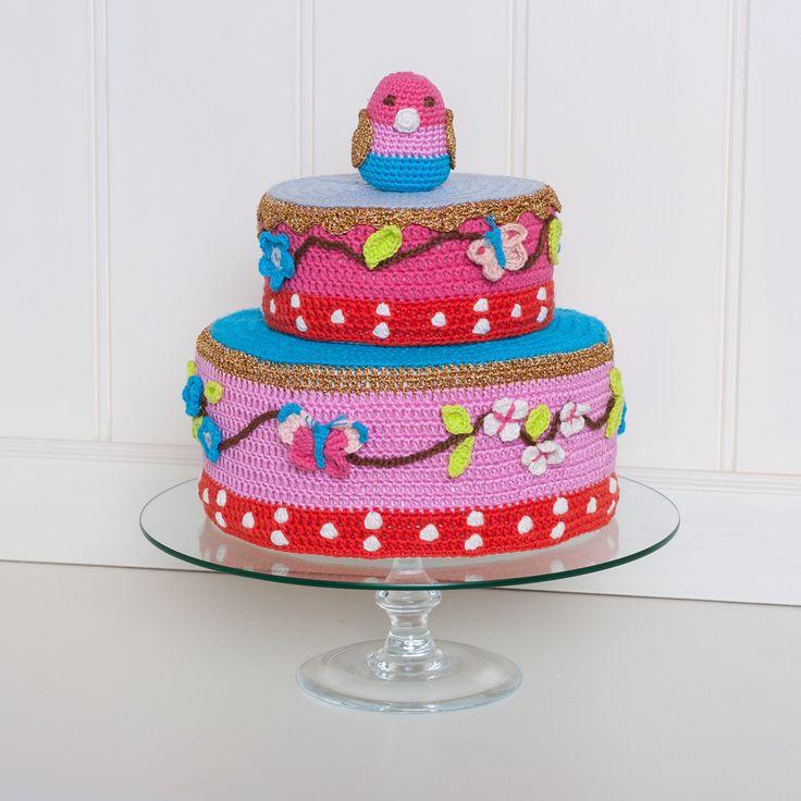 Zelf gehaakte pip taart Crochet pip studio cake Haken