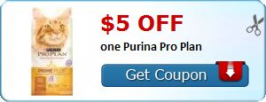 New Coupon!  $5.00 off one Purina Pro Plan - http://www.stacyssavings.com/new-coupon-5-00-off-one-purina-pro-plan/