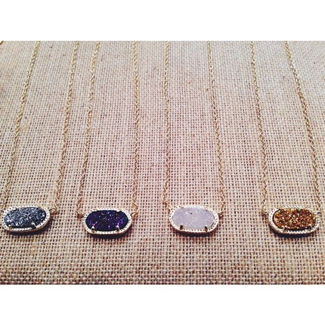 Words can't even explain how perfect and sparkly these Kendra Scott 'Elisa' layering necklaces are!!!#kendrascott
