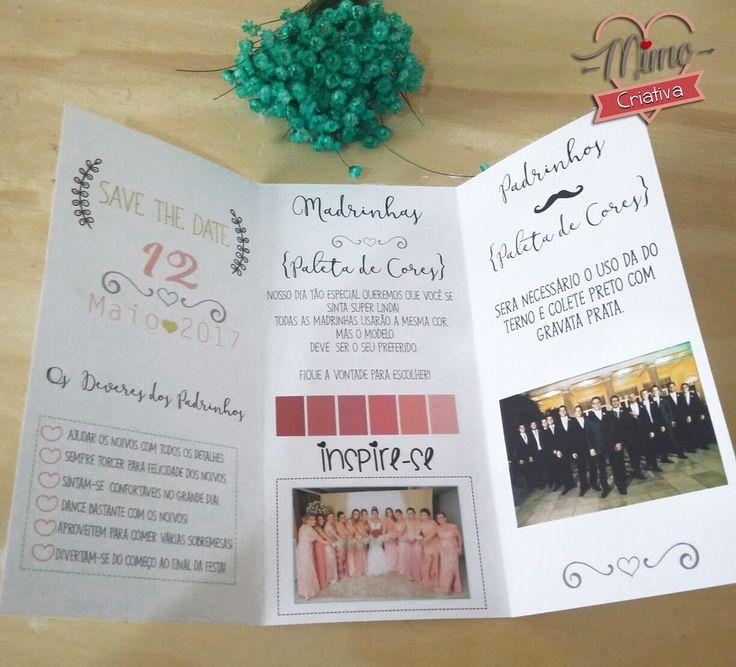 Manual dos padrinhos avulso tamanho 12x8cm personalizado com as cores desejadas Após confirmação do pagamento no campo ''chat'' informe'' - Cores vestido madrinha - cores terno gravata padrinhos - nome dos noivos - informação adicionais (opcional)