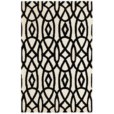 Dynamic Rugs Palace Ivory/Black Area Rug & Reviews | Wayfair.ca