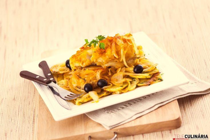 Bacalhau Frito com Batata Salteada TC_003 (Custom)