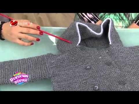 Kapişon Şapka Yapımı - YouTube