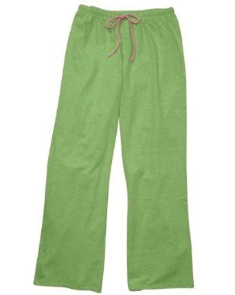 Hyp Naughty Cotton/Spandex Stretch Lounge Pants - HY405 - Limeade / Cotton Candy - Large HYP. $10.00