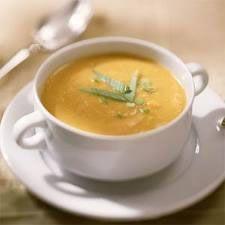 Alkaline Diet Recipe #96: Sweet Potato Soup - This sweet potato soup recipe has been created by the famous British chef Antony Worrall Thompson.