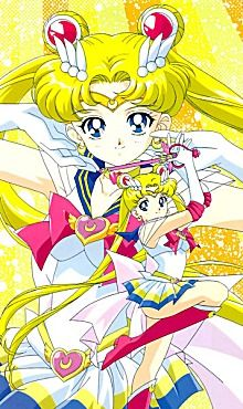 Sailor Moon - Serena (Tsukino Usagi/Nova Rainha Serenity)