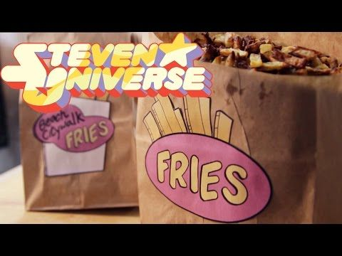 How to Make FRY BITS from Steven Universe! Feast of Fiction S4 Ep - YouTube