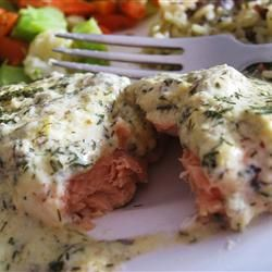 Salmon Cakes With Lemon, Dill, And Homemade Dijon Mayonnaise Recipe ...