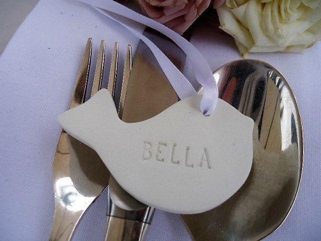 Wedding Name Tags - Set of 25 by MYMIMISTAR on Etsy