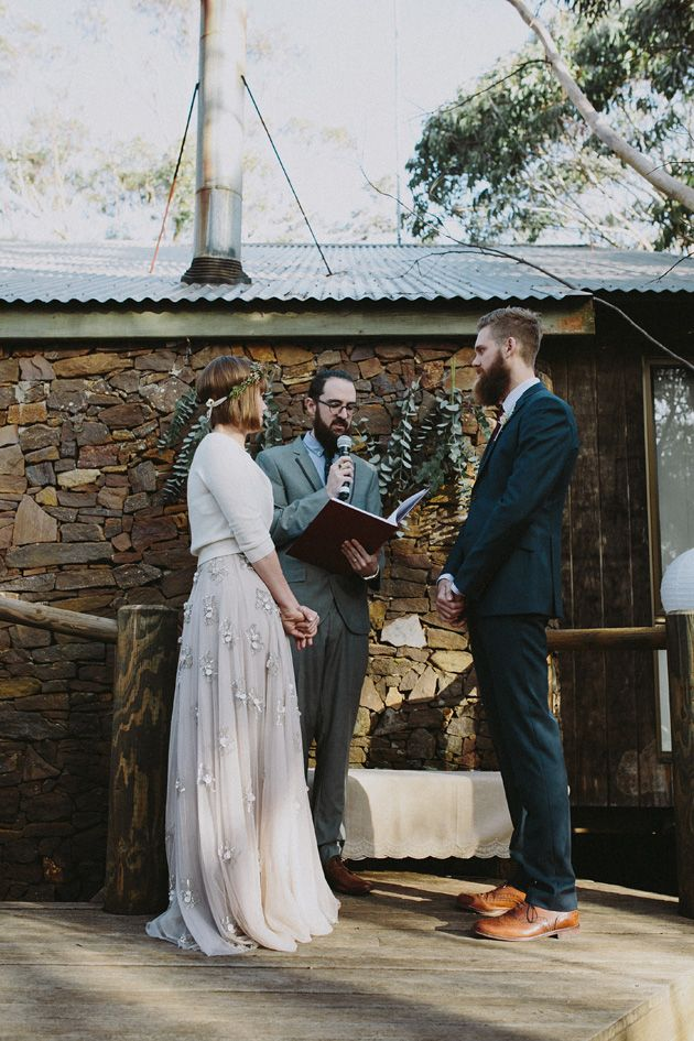 Claire David S Intimate And Stylish Australian Campground Wedding In Blackheath The Blue Mountains