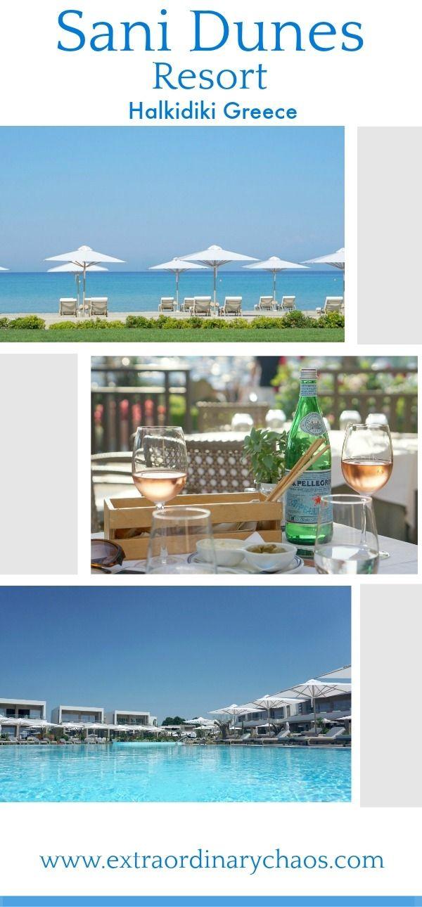 Sani Dunes Resort in Halkidiki Greece, Sani Resorts New 5 Star luxury Resort Review