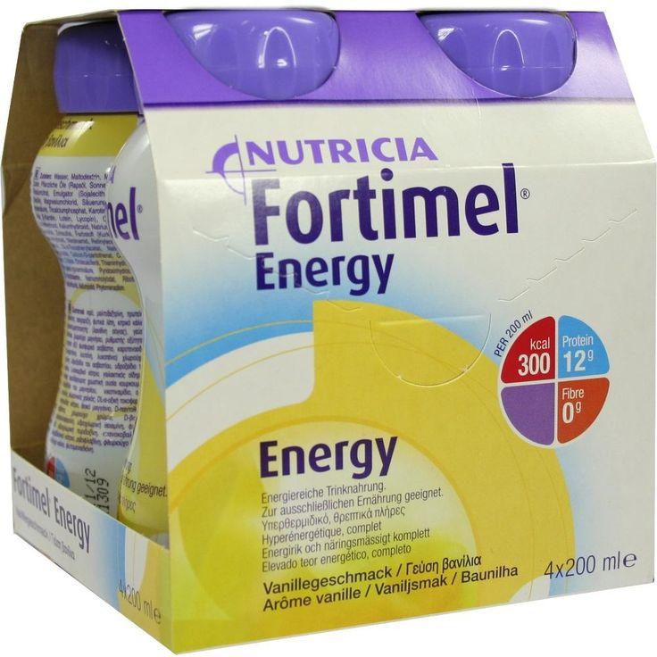 FORTIMEL Energy Vanillegeschmack:   Packungsinhalt: 4X200 ml Flüssigkeit PZN: 01125488 Hersteller: MCM KLOSTERFRAU Vertr. GmbH Preis:…