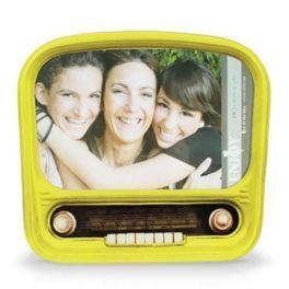 Porta Retratos de Vidro Nostalgic Radio