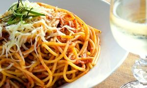 Groupon - $ 8.50 for $18 Worth of Pizza and Italian Food at Café Sicilia in Multiple Locations. Groupon deal price: $8.50