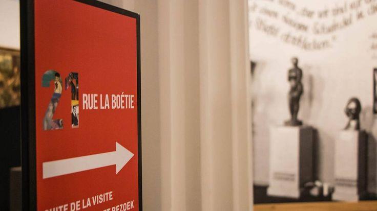 Expo 21 rue la Boétie, Luik, La Boverie, Liège, Exposition d'Art & Civilisation. Geïnspireerd op boek van Anne Sinclair over parcours van grootvader Paul Rosenberg, kunstenaar begin vorige eeuw... Denk heel actueel!