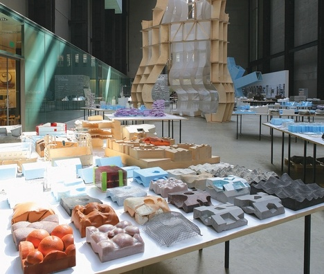 Some Inspiration for Production & Iteration  herzog & de Neuron - tate modern exhibition