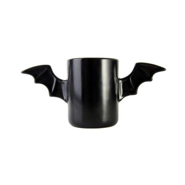 Gadżet dla wszystkich wielbicieli największego superbohatera kryjącego się w mroku. Specjalnie dla Ciebie, kawałek Gotham City kryjący się w skrzydlatym kubku.