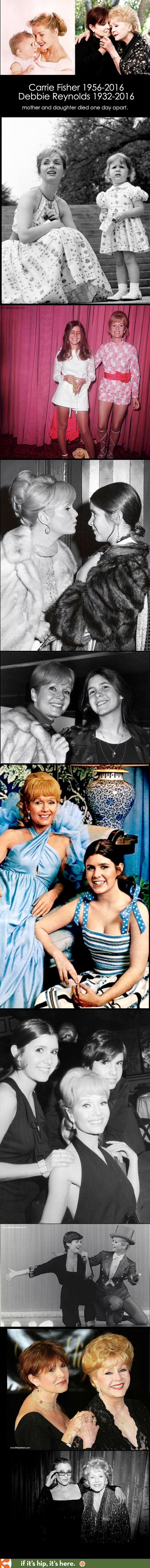 Two beautifully talented women, together again. May God rest their souls. #Carriefisher #DebbieReynolds