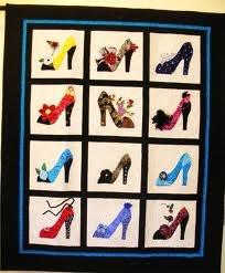 Shoes Quilt: Shoe Quilt, Belle S Shoes, Shoes Quilt, Quilting Patterns, Quilt Ideas, Sewing Quilts, Crafts Quilts