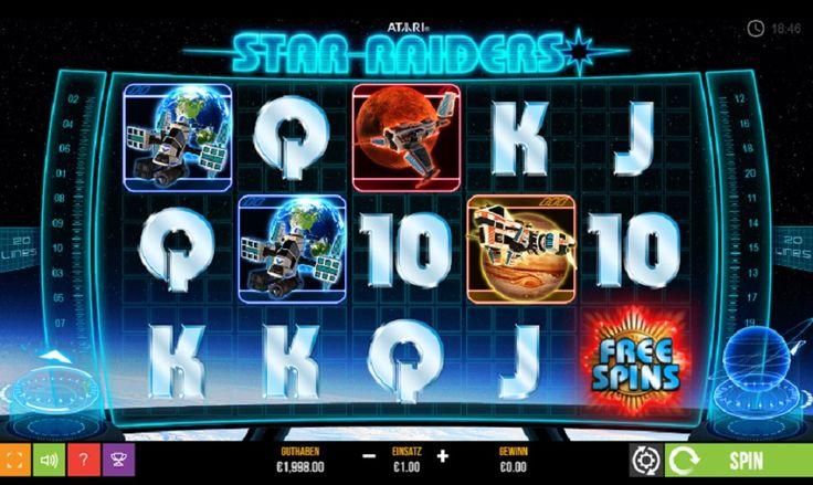 Gönnen Sie sich all die tollen Gewinnmöglichkeiten mit dem Spielaultomaten Star raiders slot #jackpot #gratis #spielautomaten kasinogermania.com/spiele/spielaultomaten-star-raiders-slot