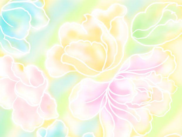 Фоны для презентаций - паттерны цветов 10