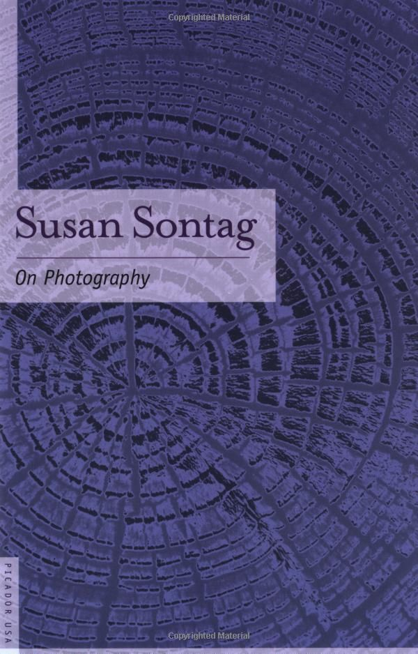 an essay on susan sontag on photography Susan sontag's claim it is clear that photography limits people's interpretation of the world this claim i false because pictures rang from people in complete destitution as seen by photos of jacob riis to people having a good time on vacation.