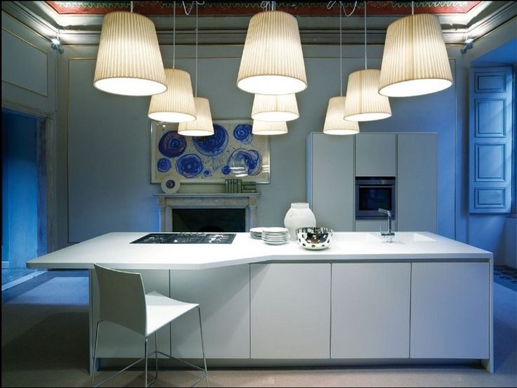 Kitchen Designs:Simple Kitchen Design Model Combine Color Lamp Blue And Yellow Classy Kitchens from Schiffini
