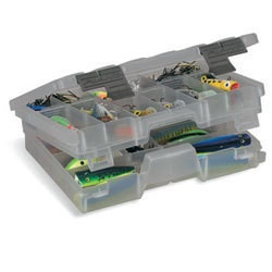 plano 2 tiered fishing tackle box