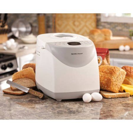 Hamilton Beach HomeBaker 2 Pound Automatic Breadmaker Gluten Free Setting | Model# 29881 - Walmart.com