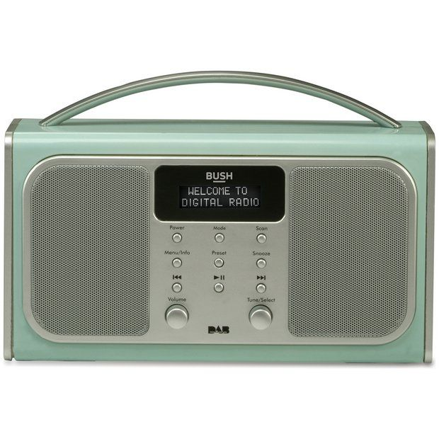 Buy Bush Bluetooth DAB Radio - Blue at Argos.co.uk - Your Online Shop for Radios, Home audio, Technology.