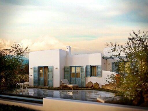 Greek house architecture-3drender-φωτορεαλισμος-3dstudio.gr