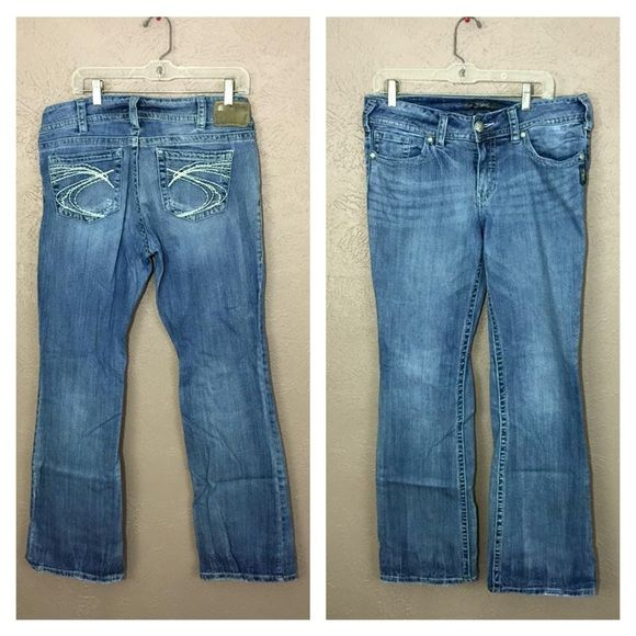 Size 32 X 32 Silver Jeans Size 32 X 34 Silver Jeans. 99% cotton. 1 ...