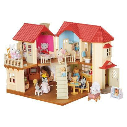 This collection would be fun for Aly's B day.  Calico Critters Luxury Townhome