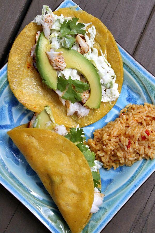 25 b sta halibut tacos id erna p pinterest halibut for Halibut fish tacos