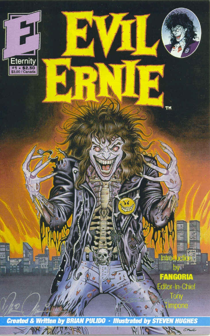 Lobo animal www imgarcade com online image arcade - Evil Ernie Youth Gone Wild 1 Dec 1991 Http